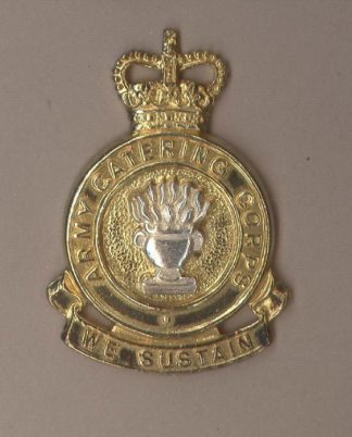 ARMY CATERING CORPS QC OFFICERS gilt/sil.pl