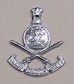 ARMY ORDNANCE DEPARTMENT