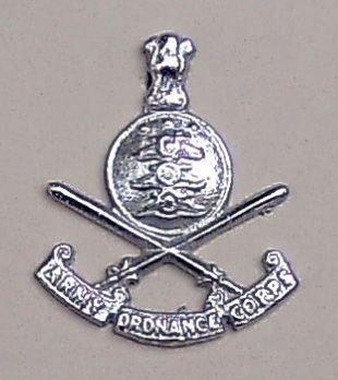 ARMY ORDNANCE DEPARTMENT