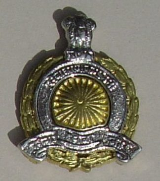 ARMY SERVICE  CORPS - India post '47 bi metal