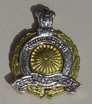 ARMY SERVICE  CORPS - India post '47 bi metal