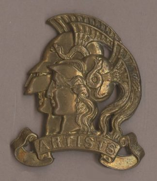 ARTISTS or's g/m cap badge