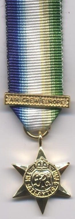 ATLANTIC STAR - clasp - AIR CREW EUROPE - new