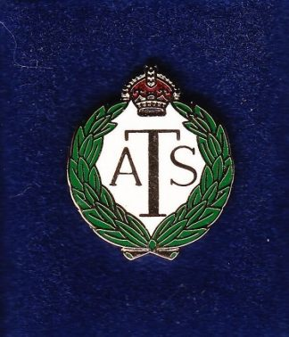 A. T. S. - Lapel badge