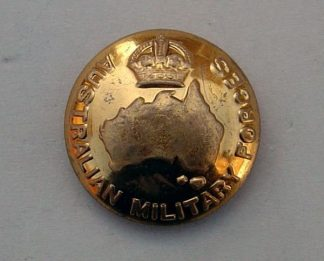 AUSTRALIA GENERAL SERVICE KC 25mm 0Rs BRASS