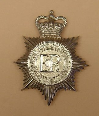 AVON AND SOMERSET CONSTABULARY QC Chrome H.P