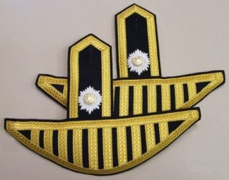 IRISH GUARDS BANDMANS SWALLOW NEST EPAULETTES IRISH GUARDS pair