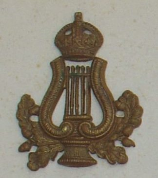 BANDSMAN - LYRE, WREATH and KINGS CROWN g/m