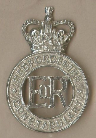 BEDFORDSHIRE CONSTABULARY QC Chrome c/b