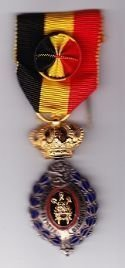 BELGIUM MEDAL of the ORDER of LABOUR and INDUSTRY - Full size, 1st. Class
