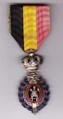 BELGIUM MEDAL of the ORDER of LABOUR and INDUSTRY - Full size 2nd Class