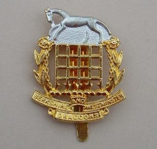 BERKSHIRE and WESTMINSTER DRAGOONS OR'S Officer Qu