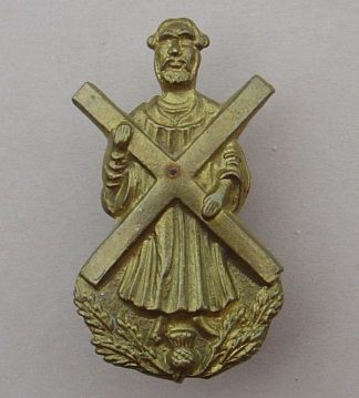 BLACK WATCH St. ANDREW in gilding metal