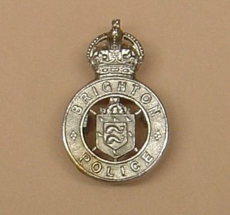 BRIGHTON POLICE KC, nickle plated Shield