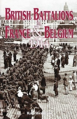 British Battalions in France & Belgium 1914