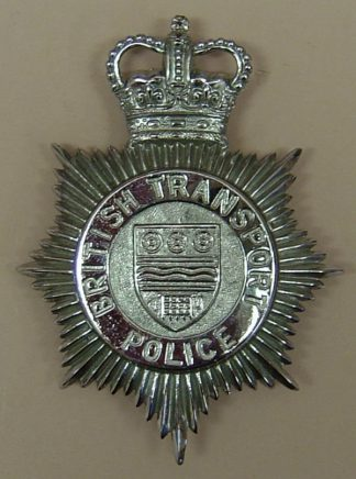 BRITISH TRANSPORT POLICE - QC chrome