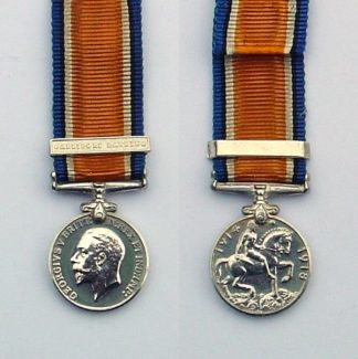 BRITISH WAR MEDAL 1914-1918 'GALLIPOLI LANDINGS'