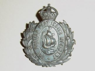 BRITISH WEST INDIES REGIMENT KC O.S.D. cap badge