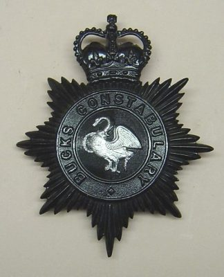 BUCKS CONSTABULARY QC Night Plate