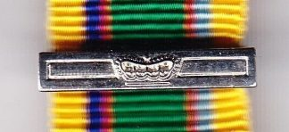 CADET FORCES additional clasp miniature
