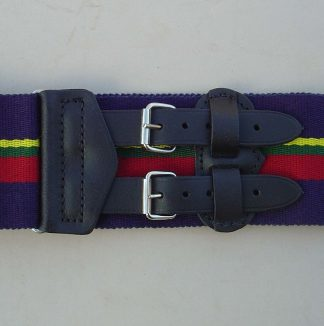 CADET FORCES Leather Straps Stable Belt