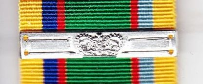 CADET FORCES MEDAL Additional Service clasp qc