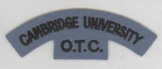 CAMBRIDGE UNIVERSITY O.T.C. cloth s/t dk blue/lt.b