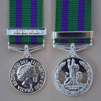 "CAMPAIGN SERVICE MEDAL 2008 ""WESTERN AFRICA"""