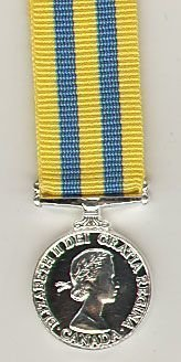 CANADIAN QUEENS KOREA MEDAL ERII