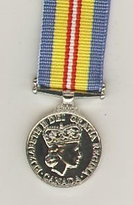 CANADIAN VOLUNTEER SERVICE MEDAL FOR KOREA