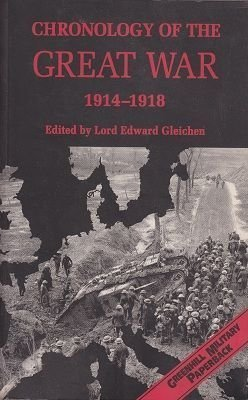 Chronology of the Great War, 1914-1918