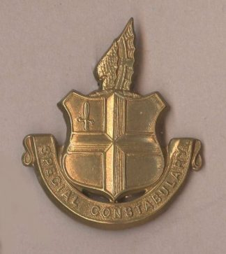 CITY OF LONDON SPECIAL CONSTABULARY g/m cap badge