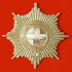 COLDSTREAM GUARDS a/a cap badge