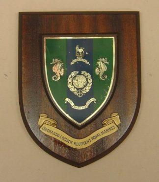 COMMANDO LOGISTIC REGIMENT ROYAL MARINES wall plaque