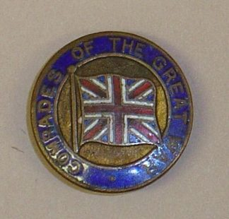 COMRADES OF THE GREAT WAR lapel badge