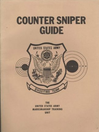 COUNTER SNIPER GUIDE