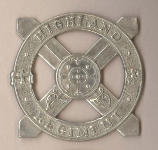 GHLAND REGIMENT w/m