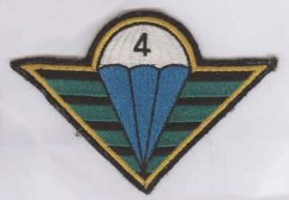 CZECH REPUBLIC PARACHUTE WING -large sleave badge