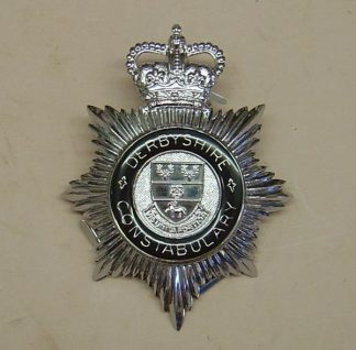 DERBYSHIRE CONSTABULARY QC Chrome 'blue ring'