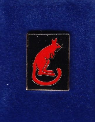 DESERT RATS lapel badge