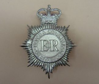 DEVON & CORNWALL CONSTABULARY QC Chrome