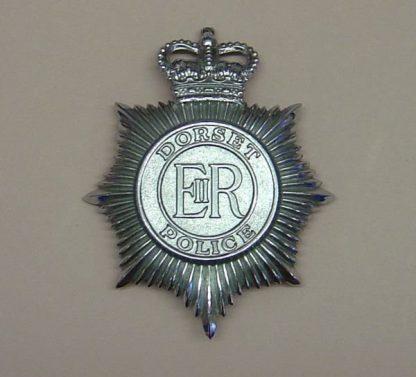 DORSET POLICE QC chrome helmet plate
