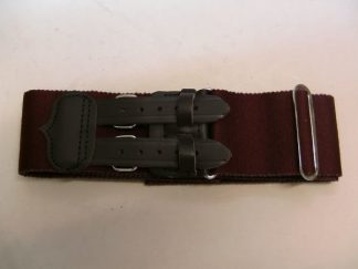 DUKE OF LANCASTER'S REGIMENT Leather Straps Stable Belt