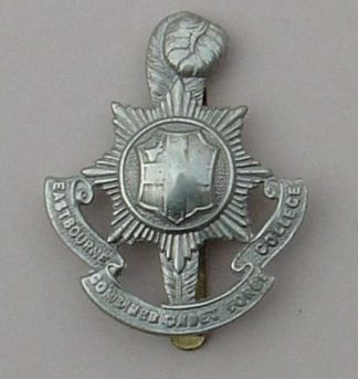 EASTBOURNE C.C.F. COLLEGE wi/m cap badge