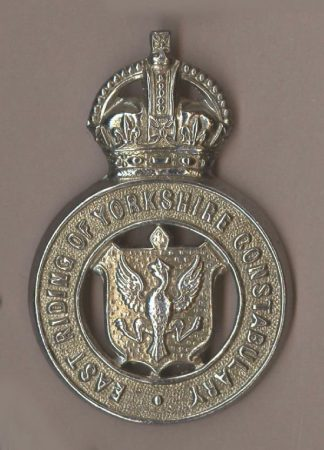EAST RIDING of YORKSHIRE CONSTABULARY KC chrome cb