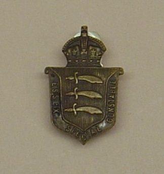 SEX SPECIAL CONSTABLE KC Bronze lapel badge