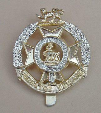 RESTER BRIGADE a/a cap badge