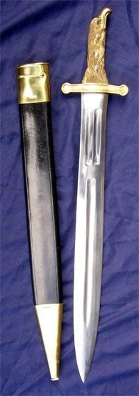 Reproduction French Model 1771 Foot Artillery Short Sword