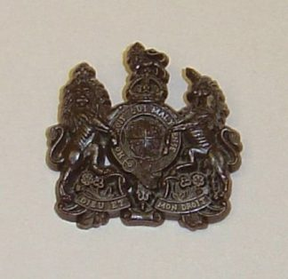 GENERAL SERVICE CORPS KC PLASTIC ECONOMY CAP BADGE