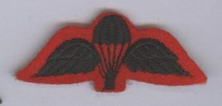 URKA RIFLES small black on red Para Wing